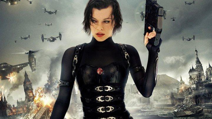 Обитель зла 2 - Апокалипсис . 2004. ужасы, фантастика, боевик