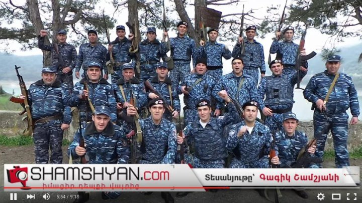 Արցախի և Հայաստանի ոստիկանները անառիկ են պահում Սարսանգի ջրամբարը