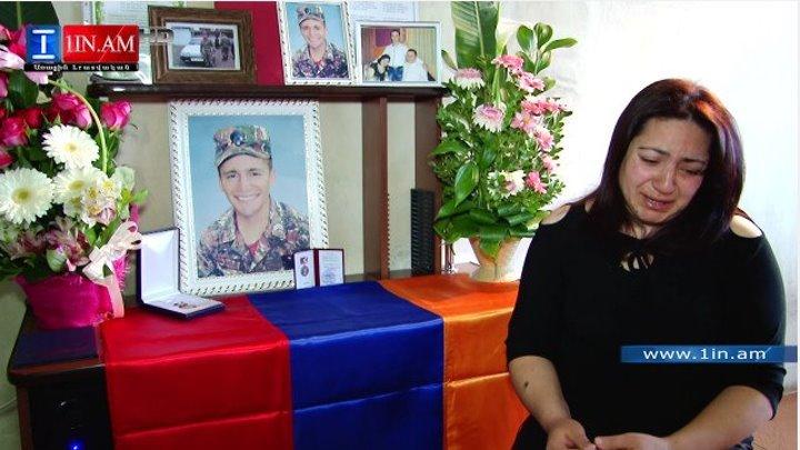 Близкие и друзья о погибшем герое С. Галстян. Ծնողներն ու ընկերները ողբում են հերոս Սաշա Գալստյանի կորուստը