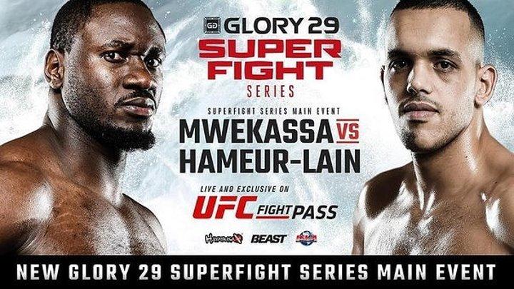 Glory 29 Copenhagen Superfight Series (17.04.2016) Копенгаген, Дания.