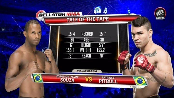 Патрики Фрейре - Кевин Соуза (17.04.2016) Bellator 152 Freire vs. Souza