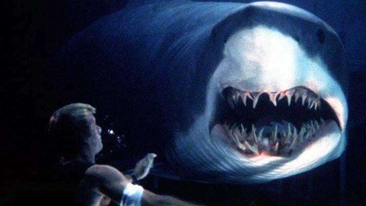 Глубокое синее море HD(фантастика, боевик, триллер)1999