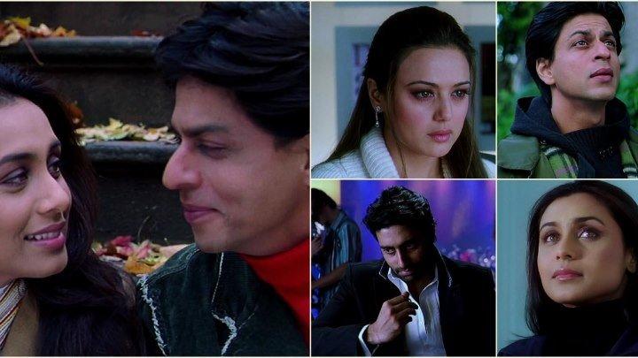 """клип """" Kabhi Alvida Na """" (Никогда не говори прощай )"""" в HD"""