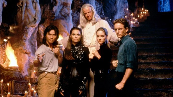 Смертельная битва 1995 фантастика, фэнтези, боевик, триллер, приключения.