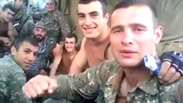 Разведчики Армии обороны Арцаха. Սահմանապահ տղերքի երգը ու ուղերձը հայ մայրերին և քույրերին
