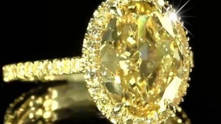 """Кольцо """"Се Ля Ви"""". Желтое золото 18К, бриллианты"""