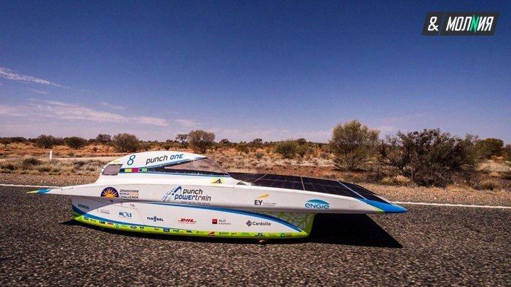 Супергонки болидов на солнечных батареях