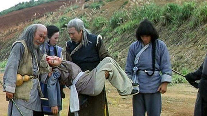 Tехника змеи и журавля Шаолиня. HD (1978) Боевые искусства, кунг-фу 1080p