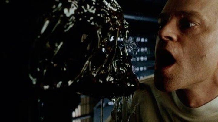 Чужой 4 Воскрешение. HD (1997) ужасы, фантастика, боевик, триллер 1080p