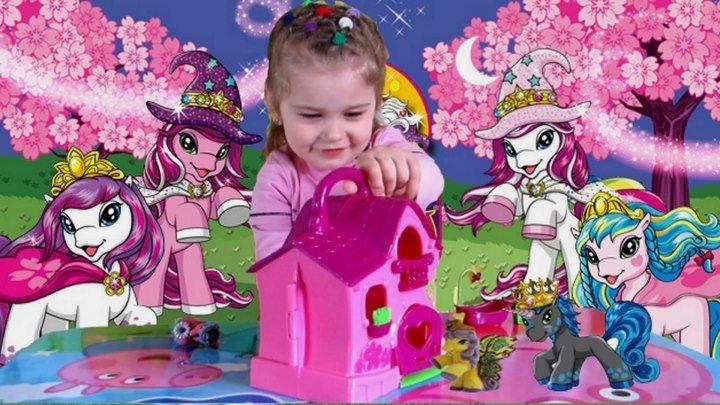 May Little Pony Filly.Сказочный Домик Филли