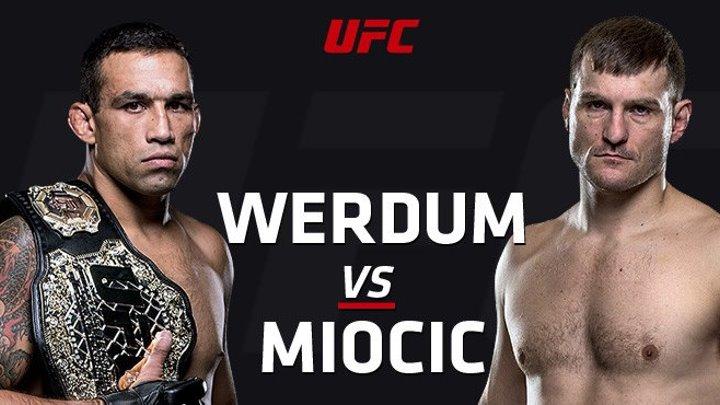 UFC 198 - ВЕРУДМ vs МИОЧИЧ - WERDUM VS MIOCIC