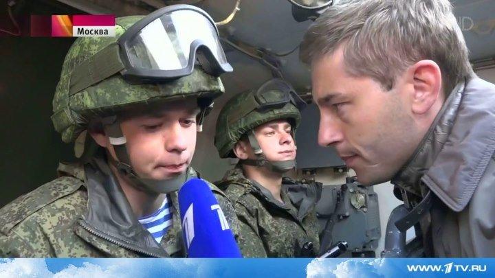 """Новый техника ВДВ, БТР-МДМ. """"По главной улице в """"Ракушке"""". Первый канал."""