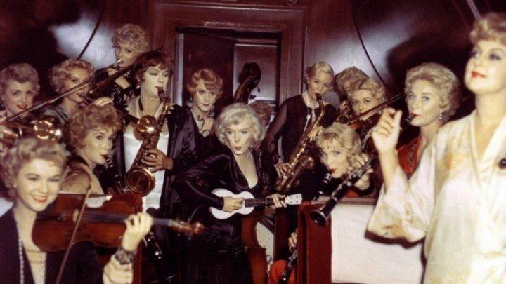 Каким мог быть фильм В джазе только девушки в цвете редкие архивные снимки Мэрилин Монро