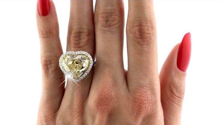 """Золотое кольцо с сапфиром """"Текила любовь"""""""