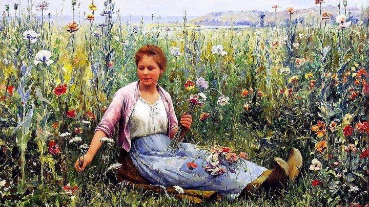 Красочные будни сельской жизни. – Художник Даниэль Риджуэй Найт ☛ ЭКЗↂТИКА ☚