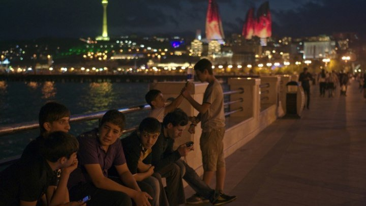 ☾۞ Жемчужина Кавказа - Вечерний Баку ☾۞