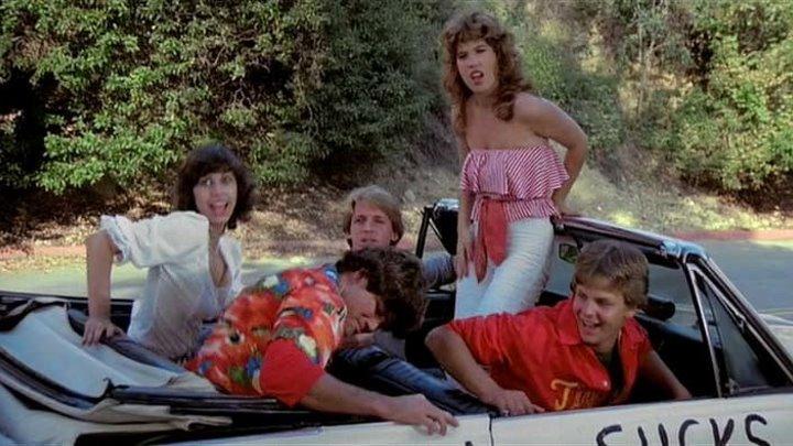 Стукнутый / Зацикленный / Влипли! / Zapped! (1982) Комедия ツ
