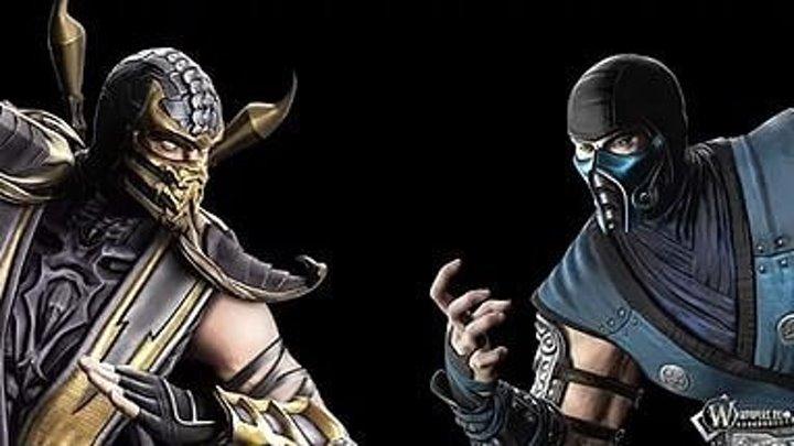 Скорпион vs Саб-Зиро Эпичная Рэп Битва!