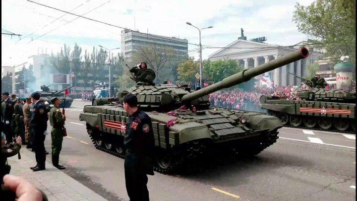 Парад Победы. Донецк 2016.