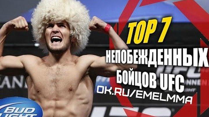 ★ TOP 7 - Непобежденных бойцов UFC ★