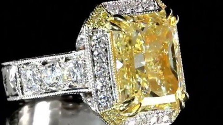 """Золотое кольцо """"Мерцание любви"""""""