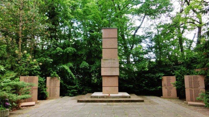 Кладбище Советских воинов в Beelitz. 28.05.2016года