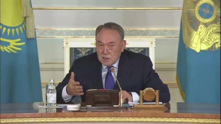 Назарбаев сделал предупреждение тем, кто хочет принести в Казахстан подобие украинских событий