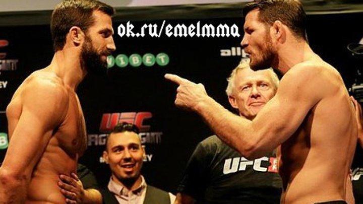 ★ Люк Рокхолд vs Майкл Биспинг 2. КТО СИЛЬНЕЕ UFC 199 ? ★