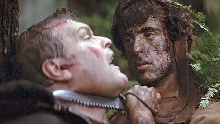 Рэмбо Первая кровь HD (1982) Боевик, Триллер 1080p