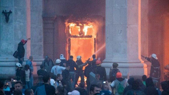 телеканал НТВ: программа Место встречи. Трагедия в Одессе-2 года спустя (29.04.2016)
