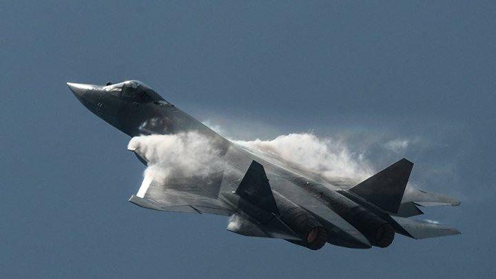 Ошеломительные маневры истребителя ПАК ФА (Т-50)