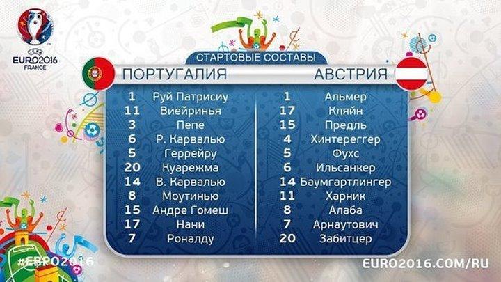 Португалия 0-0 Австрия - 720x540