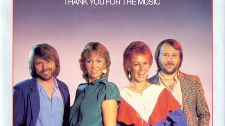Abba - Thank You For The Music (клип) 1977