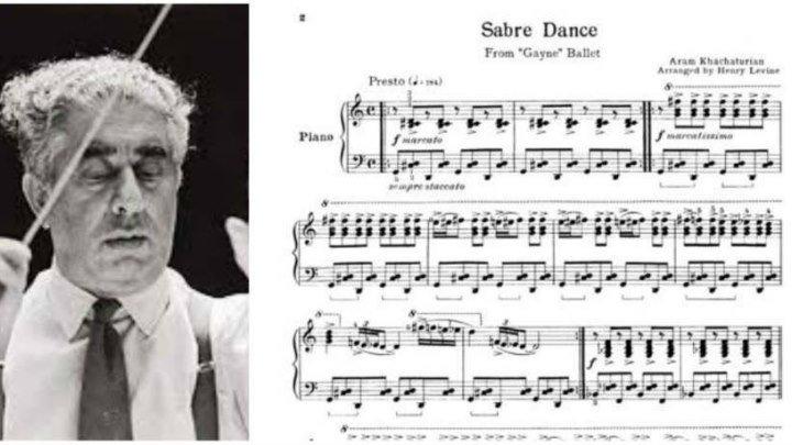 Арам Хачатурян – «Танец с саблями» из балета «Гаянэ»