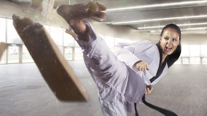 Девушки и боевые искусства