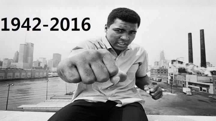 Legenda Boxului Mondial - Muhammad Ali (1942-2016) a murit la varsta de 74 de ani, dupa o lupta de 32 de ani impotriva maladiei Parkinson.