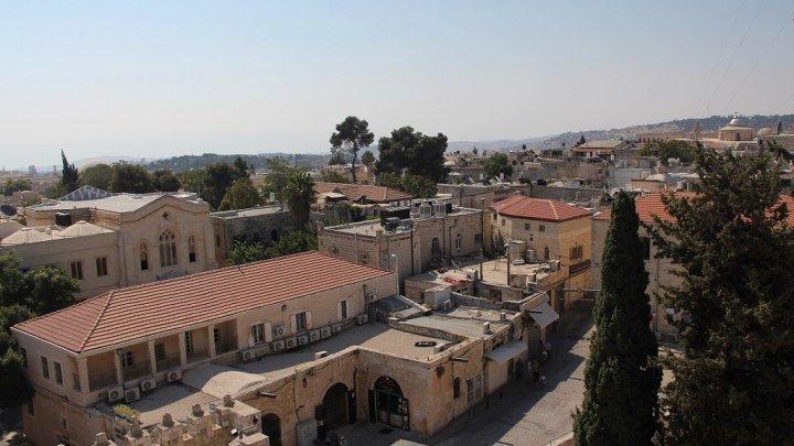 Армянский квартал в старом городе Иерусалима