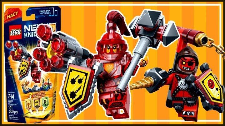 Lego Nexo Knights 2016 Macy and Beast Master - Лего Рыцари Нексо . Мультики лего