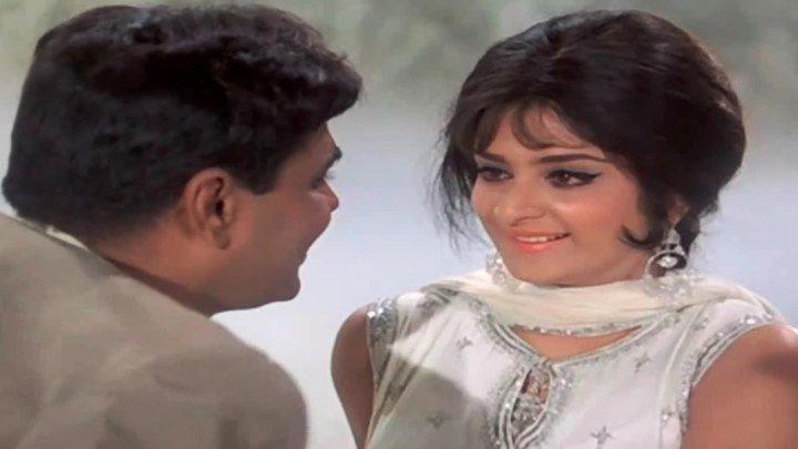 Индия.Jhuk Gaya Aasman (1968)_Kaun Hai Jo Sapnon Mein Aaya
