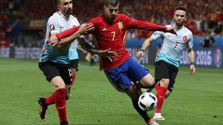 Spain vs Turkey 3-0 (EURO 2016)