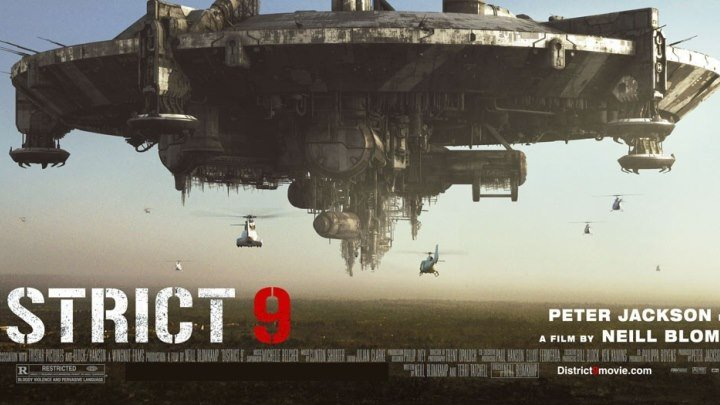Район № 9 - (Фантастика,Боевик,Триллер) 2009 г США,Канада,ЮАР