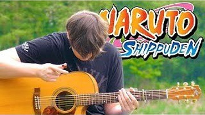 Naruto Shippuden Opening 19 'Blood Circulator' [Fingerstyle Guitar Cover by Eddie van der Meer]
