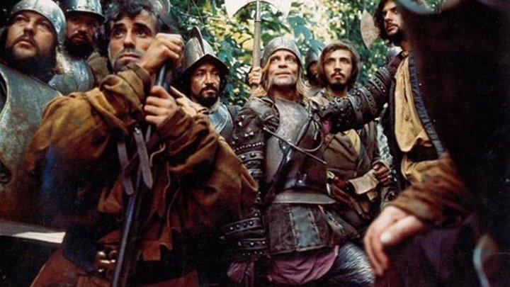 Агирре - гнев божий ⁄ Aguirre - der Zorn Gottes (1972) приключения, биографическая драма, исторический