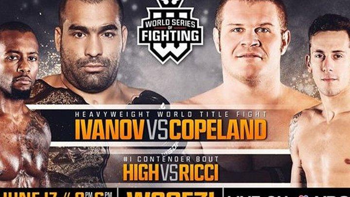 WSOF 31 (17.06.2016) Ivanov vs. Copeland