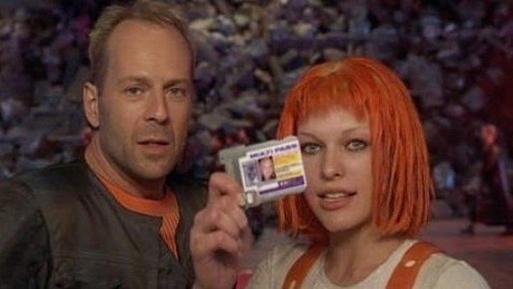 Пятый элемент (1997) боевик, фантастика
