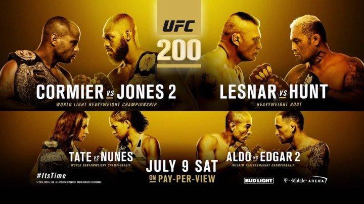 Расширенное превью к UFC 200 (русская озвучка)
