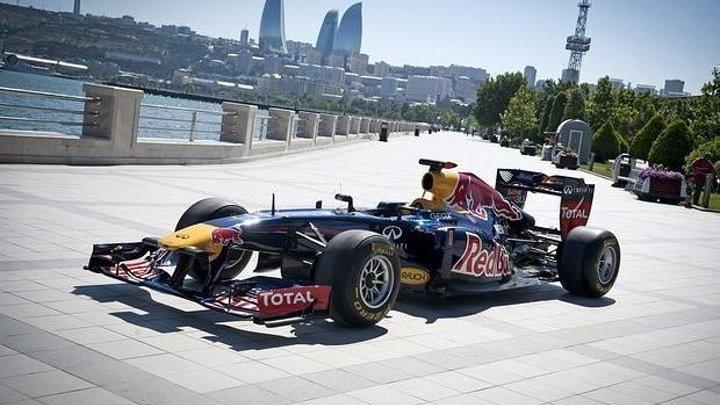 Формула 1 ( вид из болида ) Баку 2016 год