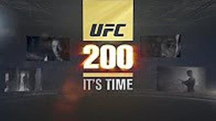 Полный эпизод UFC 200 HD