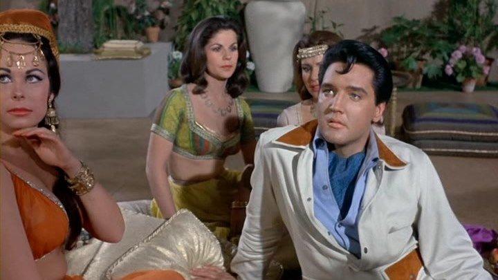 Каникулы в гареме / Harum Scarum (США 1965 Elvis Presley) Музыкальная комедия ツ