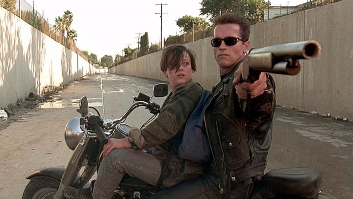 За кадром Терминатора 2 / Behind the scenes of Terminator 2